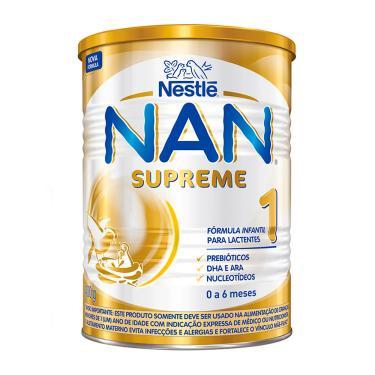 NAN Supreme 1 Fórmula Infantil 400g para Lactentes de 0 a 6 Meses