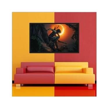 Quadro Decorativo Game Shadow of the Tomb Raider Lara Croft