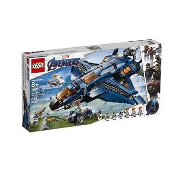 LEGO Avengers - Disney - Marvel - Ultimato - Quinjet dos Vingadores - 76126 Lego