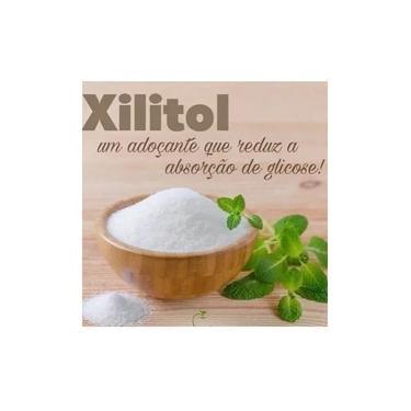 Xilitol Natural Puro 1kg Sem Misturas Branco
