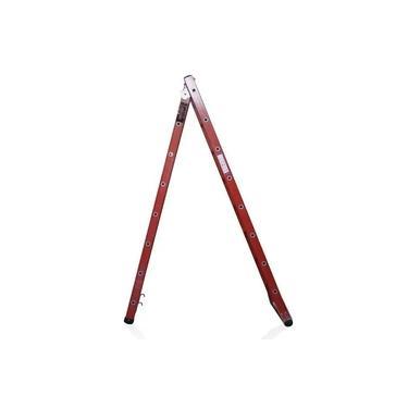 Imagem de Escada Múltipla Extensível e Tesoura em Fibra de Vidro e Degrau de Alumino ETAF 08X13 - 2,50 X 4,34M