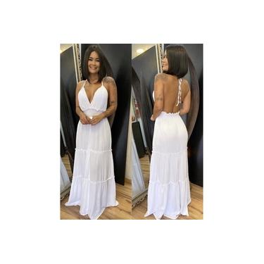 Vestido Joana - Branco
