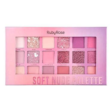 Imagem de Paleta De Sombra Soft Nude Ruby Rose Hb 1045