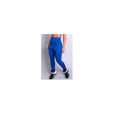 Imagem de Kit 3 Calça Legging Suplex Liso Saia Tapa Bumbum Cintura Alta Fitness Mvb Modas