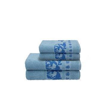 Imagem de Toalha Gala De Rosto 45x80cm Azul R7641
