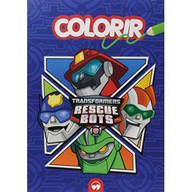 Transformers - Rescue Bots - Colorir - Vale Das Letras - 7898948960349
