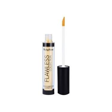 Ruby Rose Flawless Collection Corretivo Color Cor 1 Amarelo 4Ml  Hb-8090