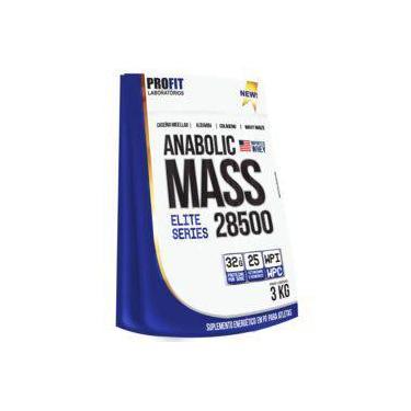 Anabolic Mass 28500 3kg Refil Hipercalórico Massa - Profit Laboratórios