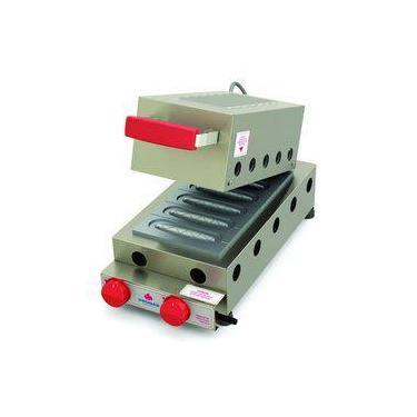 Máquina De Crepe Crepeira A Gás Progás 6 Cavidades Prk-60g Style