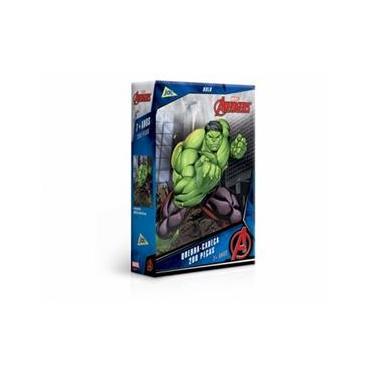 Imagem de Quebra-Cabeça Os Vingadores Hulk 200 peças - Jak