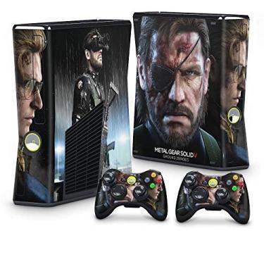 Skin Adesivo para Xbox 360 Slim - Metal Gear Solid V
