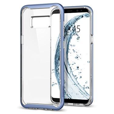 Capa Protetora Neo Hybrid Crystal Galaxy S8 Plus Spigen, Spigen, Capa Anti-Impacto, Blue/Coral