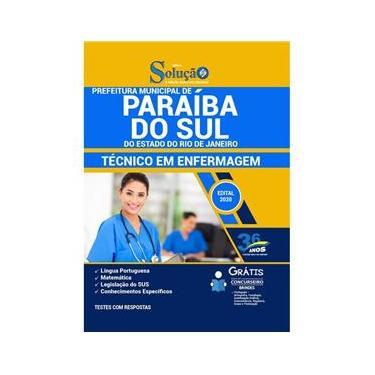 Imagem de Apostila Concurso Paraíba Do Sul Rj - Técnico Em Enfermagem