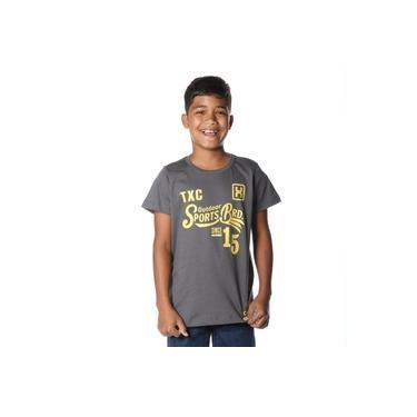 Camiseta Infantil TXC Chumbo 11557