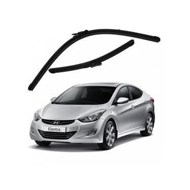 Kit Palhetas Limpador de Parabrisa Dianteiro Hyundai Elantra Ano 2011 - Atual