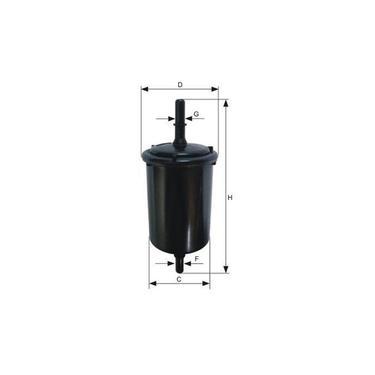 Filtro de Combustível Mann-filter Wk 58