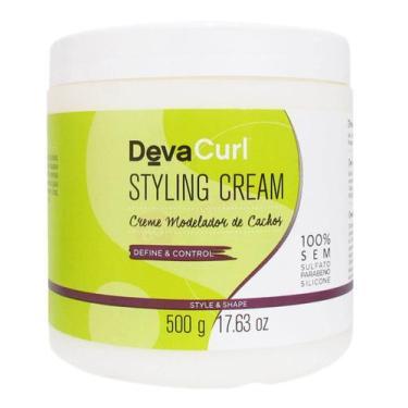 Imagem de Deva Curl Styling Cream Creme Para Cachos 500G