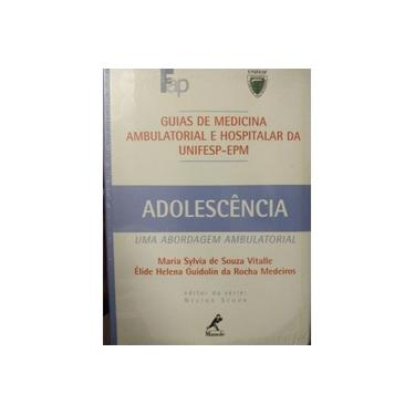 Imagem de Livro - Adolescência Guia Da Unifesp.
