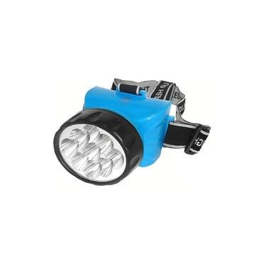 Lanterna De Cabeça Recarregável 12 Leds Albatroz 722B