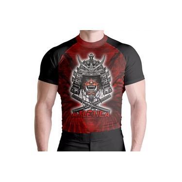 Imagem de Rash Guard Com Samurai Red Térmica Proteção ATL