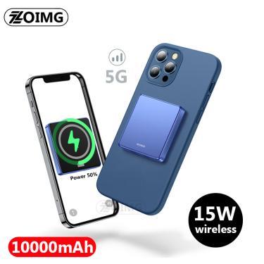 10000mah magnético sem fio power bank para apple iphone 12 magsafe powerbank carregador para xiaomi