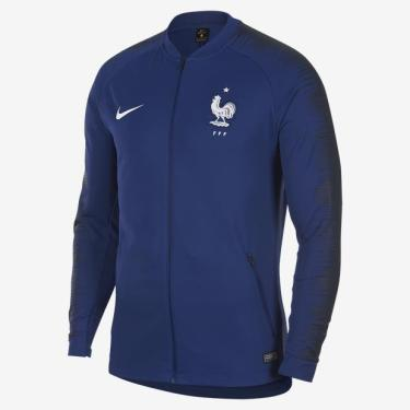 Pechinchas-21% Jaqueta Nike França Anthem Masculina a9dc3db23e7e8