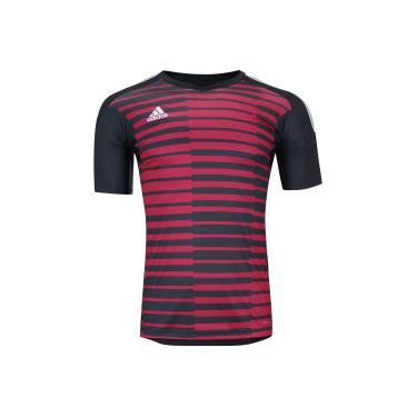 0b7c34cf11 Camisa de Goleiro adidas Adipro 18 - Masculina - CINZA ESC VERMELHO adidas