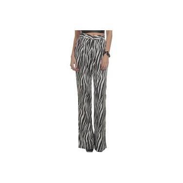 Calça Pantalona Auslander Zebra