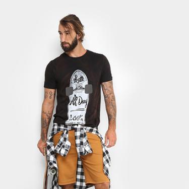 0620abf8d97d2 Camisa, Camiseta e Blusa Camisa Preto   Moda e Acessórios   Comparar ...