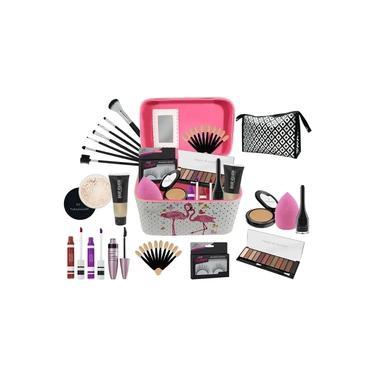 Imagem de Maleta Completa com Maquiagens Paleta Belle Angel + muitos Itens bz55