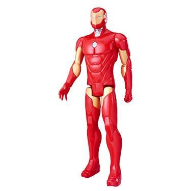 Boneco Figura de Ação Marvel Titan Hero Series Vingadores 30 Centímetros - Homem De Ferro - C0756 - Hasbro