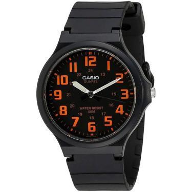 a886083e59c Relógio Masculino Casio Analógico MW2404BVDF - Preto