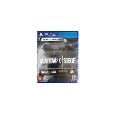 Jogo Game Tom Clancys Rainbow Six Siege PS4 - Sony