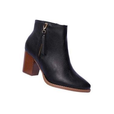 Bota feminina Ankle Boot Fachatedo Florenza Beira Rio