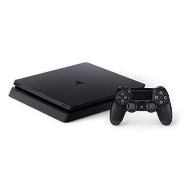 Imagem de Sony Playstation 4 Magro Video Game Console 500GB Jet Black PS4