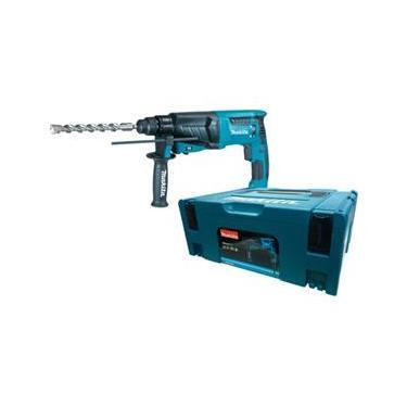 Martelete Perfurador e Rompedor 830 watts velocidade variável e reversível sds-plus - HR2630J - Makita ()