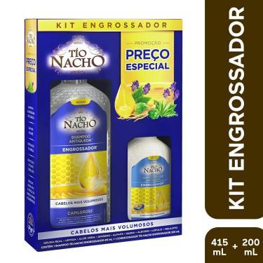 Kit Tío Nacho Engrossador Com Shampoo 415Ml/ Condicionador 200Ml