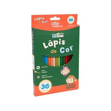 Lápis de Cor 36 Unidades - Leo & Leo