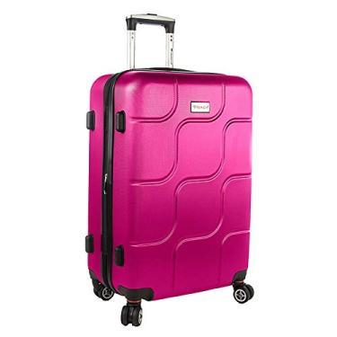 Mala viagem Primicia ABS Giro 360° Grande - Pink