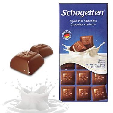 Schogetten - Alpine Milk Chocolate - Importado da Alemanha - 100g