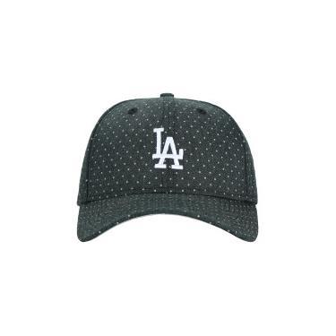 Boné Aba Curva New Era 940 Los Angeles Dodgers Polka - Snapback - Adulto -  PRETO 65f62d5c77d5d