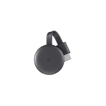 Google Chromecast 3 Geração HDMI - Adaptador Multimídia