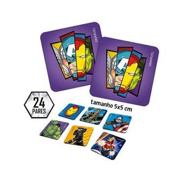 Imagem de Jogo De Memória Marvel Os Vingadores - Toyster 8038