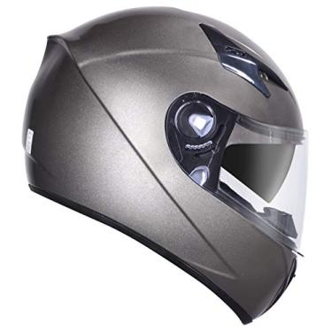 Capacete Ebf X Troy Solid 56/Chumbo