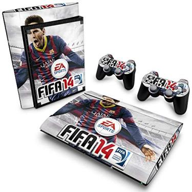 Skin Adesivo para PS3 Super Slim - Fifa 14