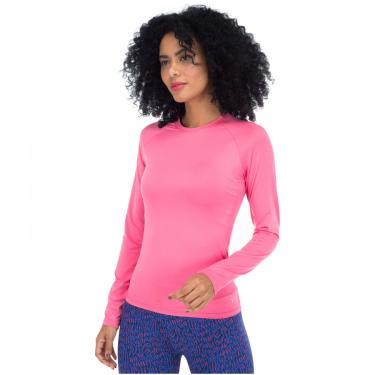 Camiseta Manga Longa com Proteção Solar UV 50+ Oxer Custom - Feminina Oxer Feminino
