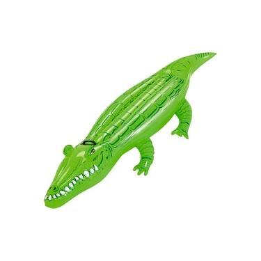 Mor Boia Inflável Infantil Crocodilo Para Piscina Jacaré Infantil