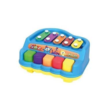 Imagem de Brinquedo para bebê Pianinho Xilofone Galinha Pintadinha