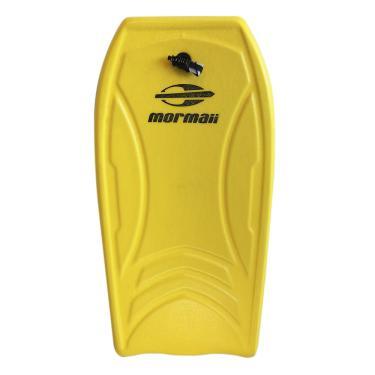 Prancha bodyboard amarela infantil mormaii 1 a 3 anos