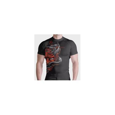 Imagem de Rash Guard Compr Red Samurai Proteção Uv Térmica atl